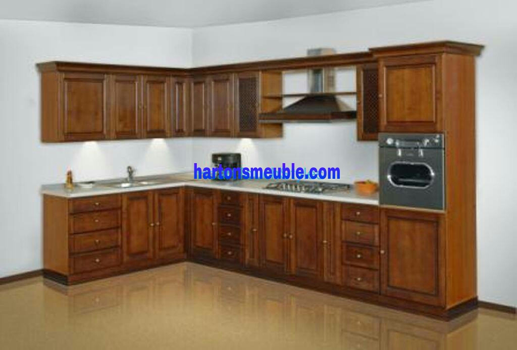 Kitchen set almari dapur hartonsmeuble for Kitchen set kayu